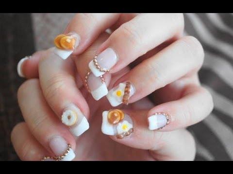 Pancake nail art tutorial polymer clay nail art youtube pancake nail art tutorial polymer clay nail art prinsesfo Choice Image