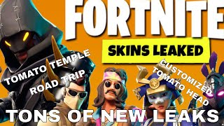 Road Trip Skin, Tomato Temple, & NEW SKINS LEAKED! | Fortnite Battle Royale Update