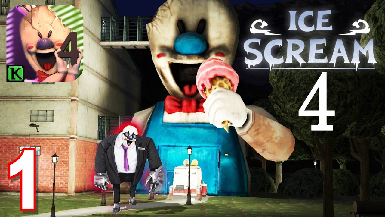 Download Ice Scream 4 Rod's Factory  Full Gameplay Ghost Mode Part 1
