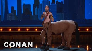 Jon Dore Just Came From 'Hercules: The Musical'  - CONAN on TBS