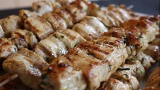 Mexican Chicken Skewers BBQ Pinchos De Pollo