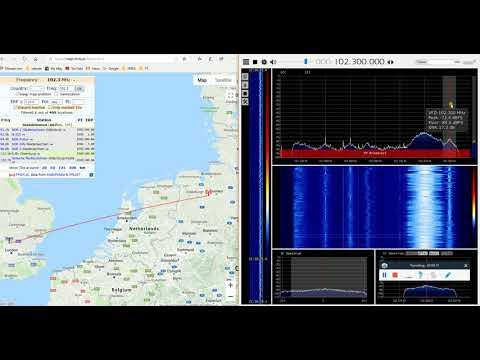 [tropo] 102.3 Radio FFN, Steinkimmen Germany, 607 Km FMDX Indoors