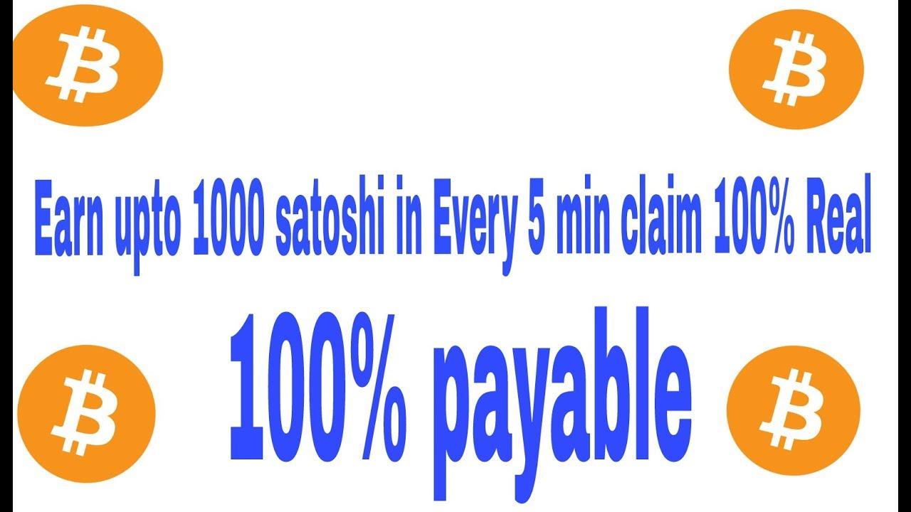 earn 1000 satoshi every minute geriausias tarpininkavimas dėl dvejetainių parinkčių