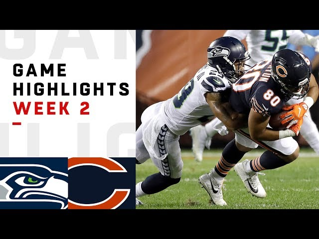 Seahawks vs. Bears Week 2 Highlights | NFL 2018