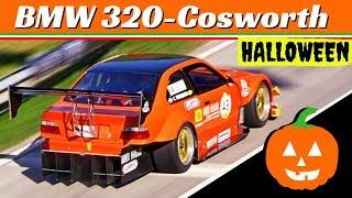 HALLOWEEN Gift: BMW 320-Cosworth driven by Carmine Tancredi - FIA Hill Climb Masters Race 2018