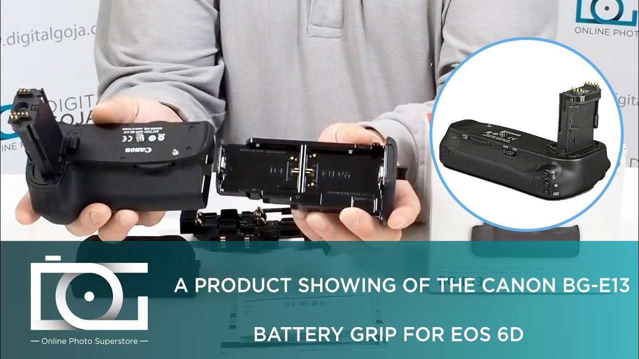 UNBOXING | CANON BG-E13 Battery Grip for EOS 6D Digital Cameras