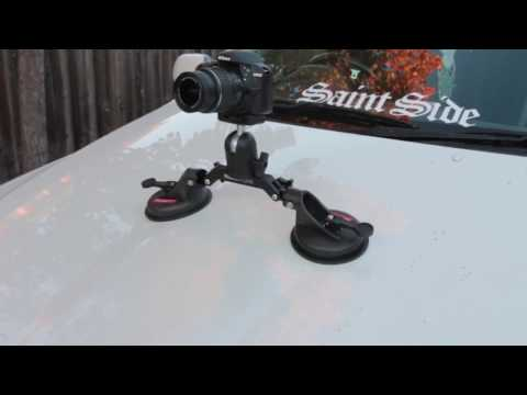 Filmcity Camera Car Suction Cup Mount Gripper