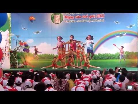 aerobic thieu nhi D.N.A LONG BIEN 2012
