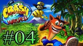 Let's Play : Crash Bandicoot Warped - Parte 4