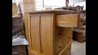 Amish Vineyard Deluxe Chest on Chest of Drawers (ID: 8901)