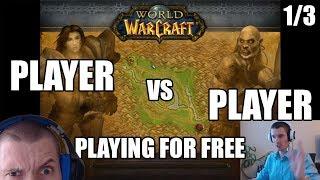 Player vs Player: 1/3 Starter Pack demonstration in World of Warcraft