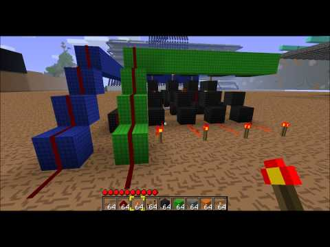 Minecraft Redstone CPU Part #2 - Random Access Memory [Tutorial] [HD]