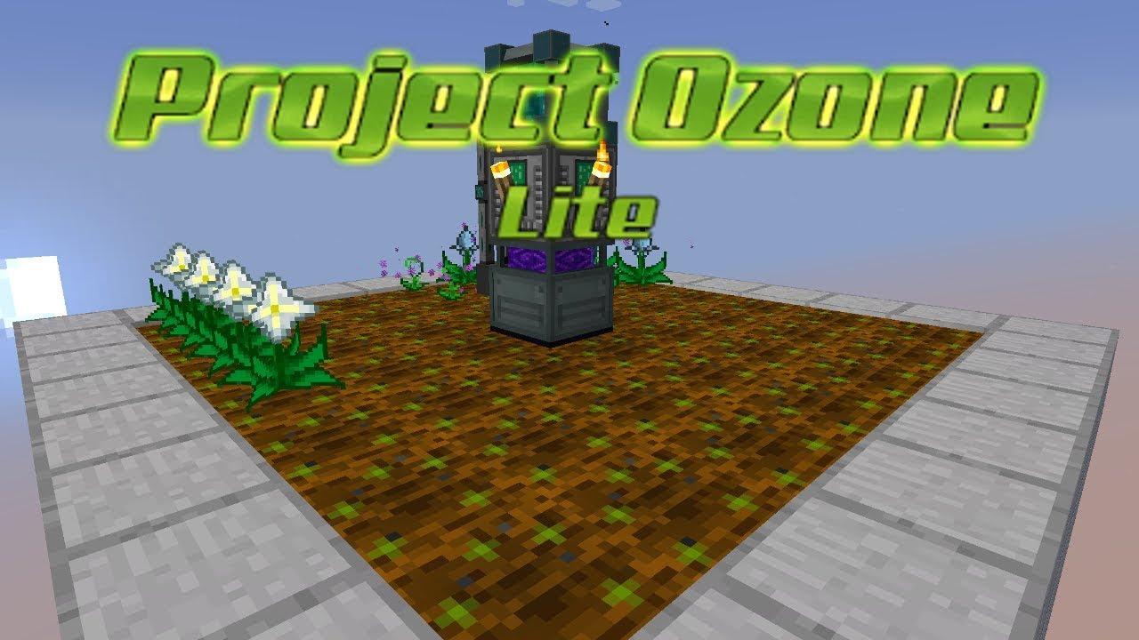 Project Ozone Lite - NETHER STAR SEEDS [E34] (HermitCraft Server Modded  Minecraft Sky Block)
