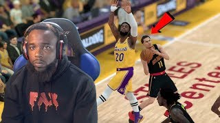 Trae Young's 4 Point Play Down By 22! NBA 2K19 MyCareer Ep 111