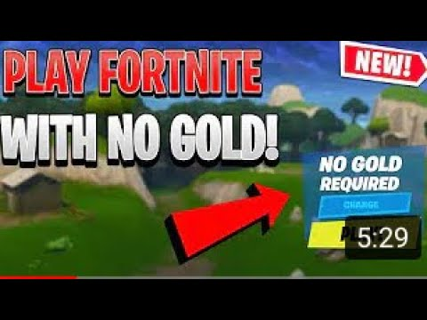 How To Play Fortnite WITHOUT XBOX LIVE GOLD!(WORKING MAY 2020!)