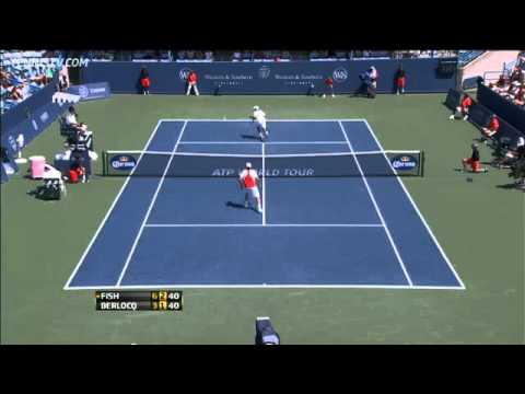 Berlocq Comes Up With Hot Shot Against Fish