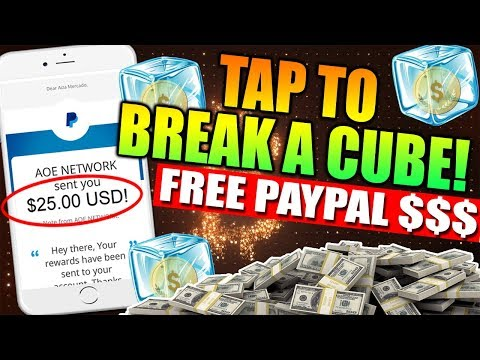 Free $25 on Paypal by Tapping a CUBE! No need invite