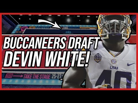 Tampa Bay Buccaneers Draft Devin White with the 5th Overall Pick!