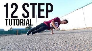 How to Breakdance | 12 Step / Twine | Footwork 101