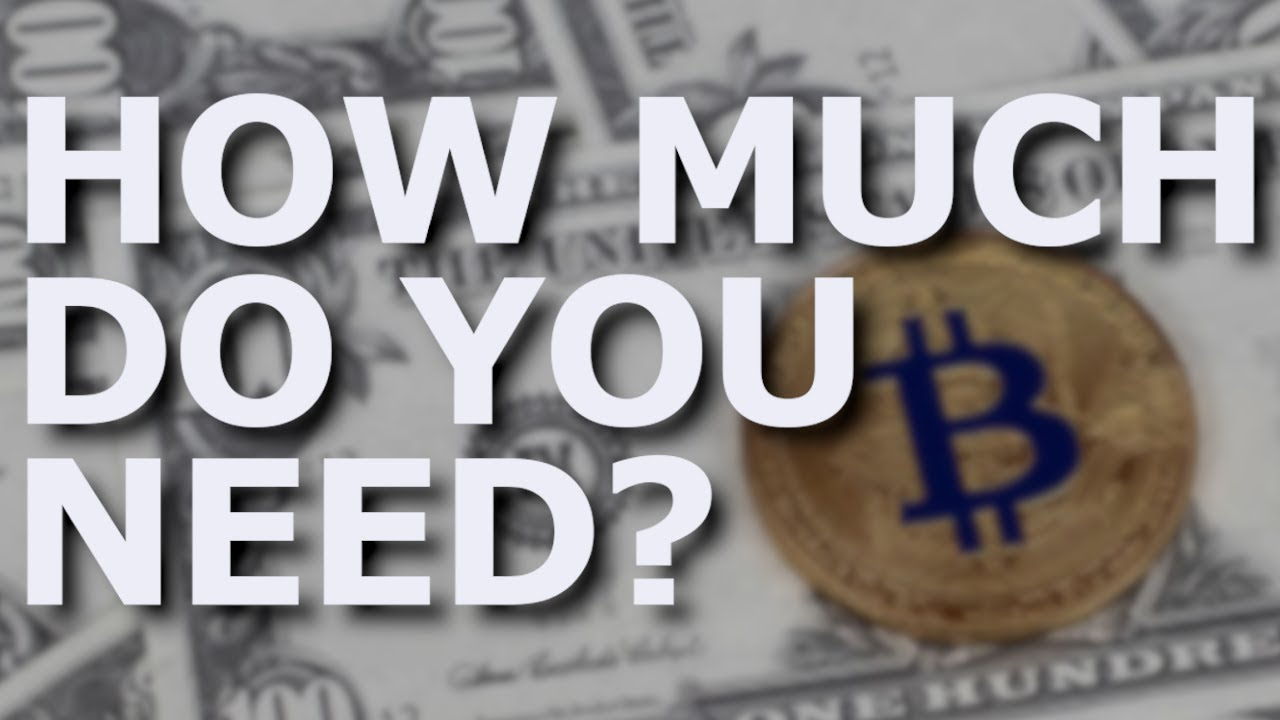 how much money to invest in bitcoin