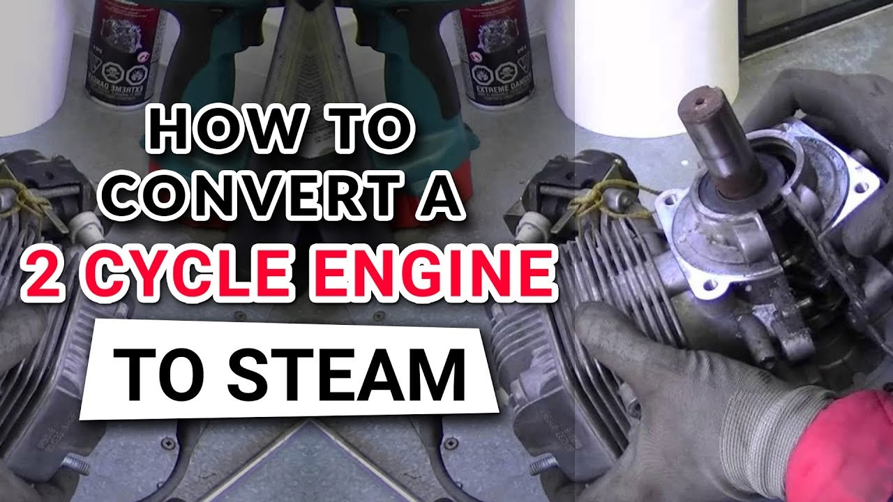 DIY 2 Cycle Steam Engine