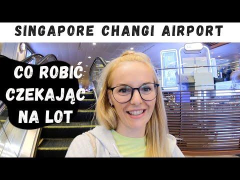 Najlepsze Lotnisko Na świecie!! Singapore Changi Airport