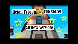 Retail Tycoon / The Secret // Roblox