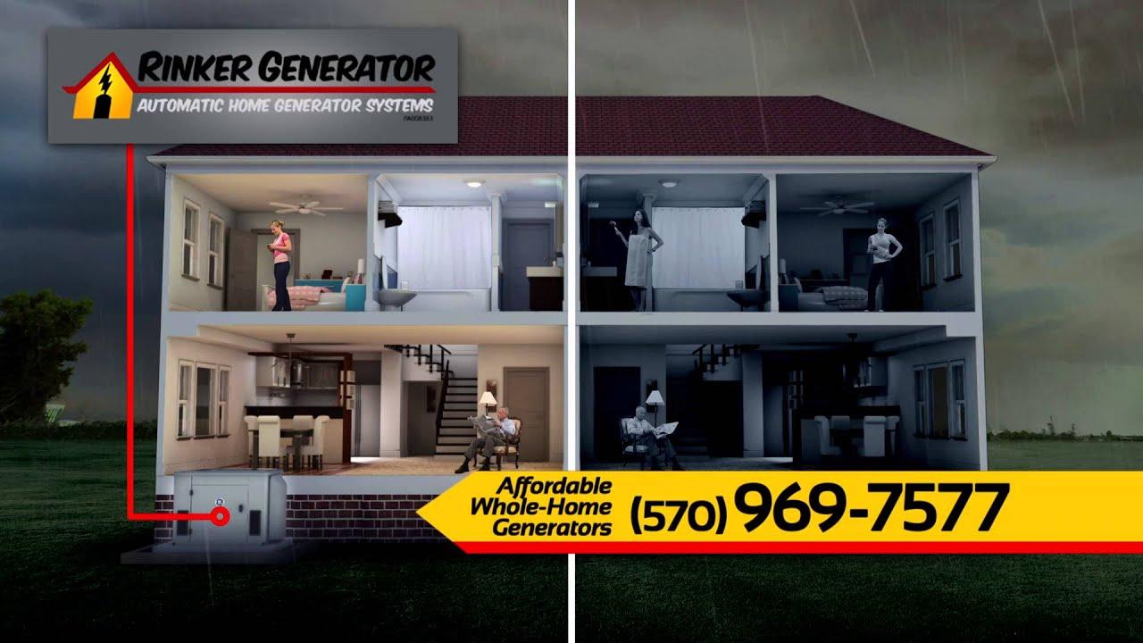 Rinker Generator Automatic Home Standby Generators