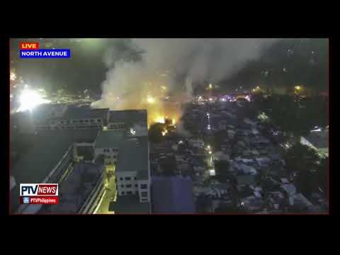 PANOORIN: Update kaugnay sa sunog sa Sitio Palanan, Brgy. Vasra, Quezon City