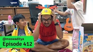 Malah Bocor! Main Topi Basah! - Wet Head Challenge