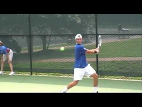2011 US Open Wild Card Playoffs: Rocky Top Rematch Of  Rhyne Williams V. Tennys Sandgren