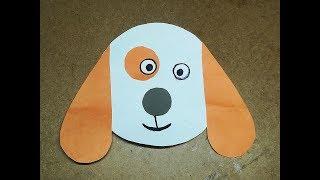 Cute Paper Dog Idea | DIY Dog | Easy Origami