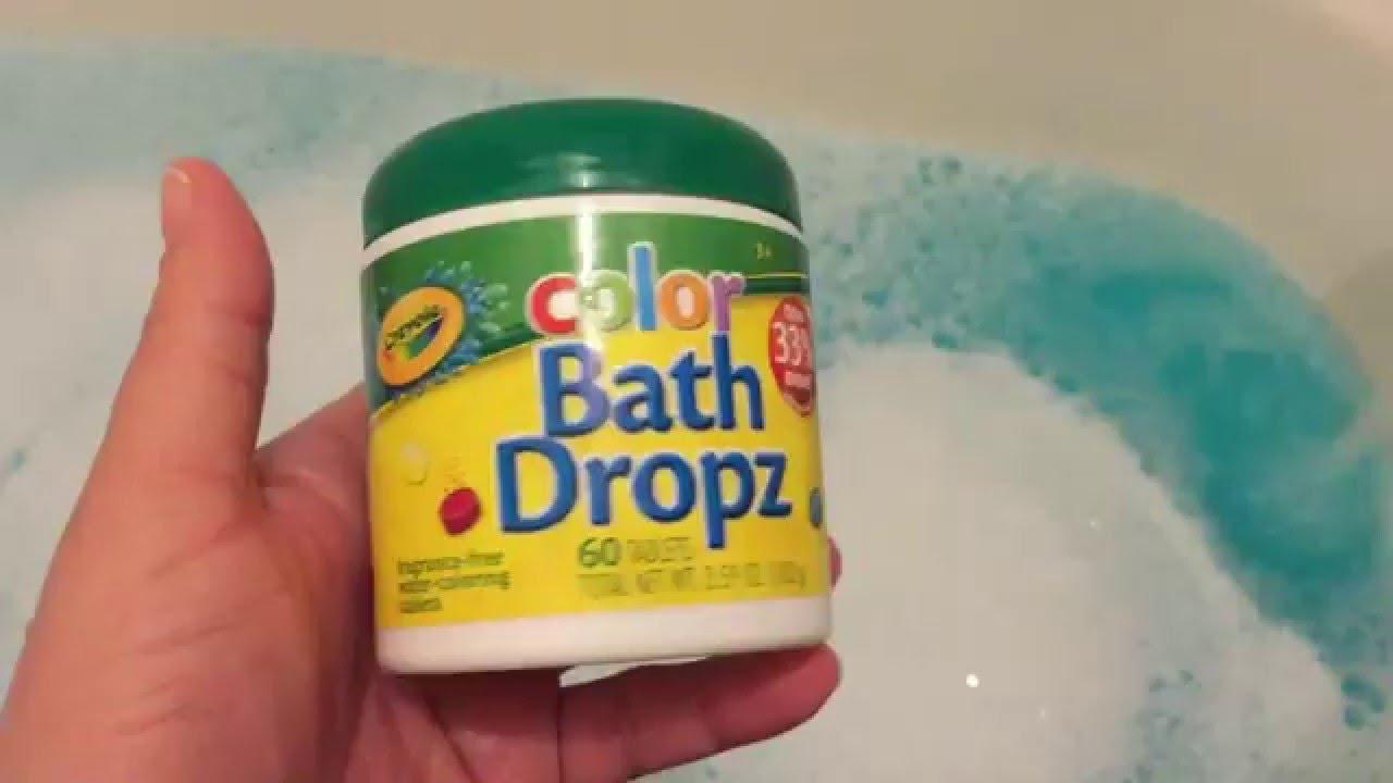 Crayola Color Bath Dropz Youtube