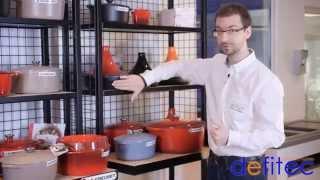 Thomas vous présente les cocottes et les plats Le Creuset