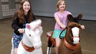 Plush Horse Ride! Astra Toy Show