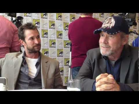 2012 Comic-Con - Falling Skies' Noah Wyle and Will Patton