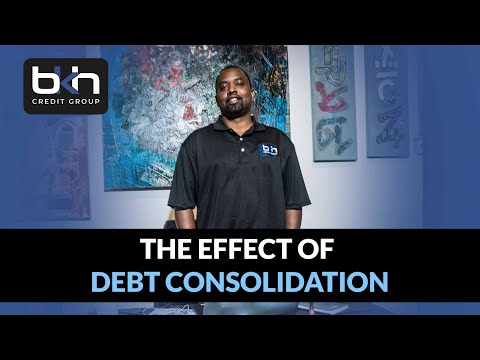 How Debt Consolidation affects personal credit and business credit