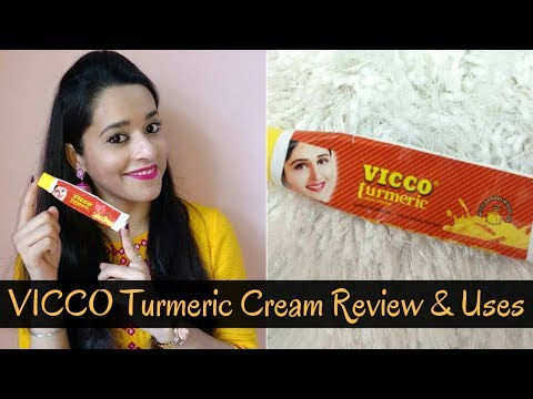 VICCO Turmeric Cream Review   How To Use   Just another girl
