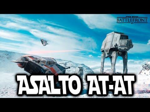 StarWars Battlefront I Asalto AT AT I Lets Play I Español I XboxOne I 1080p60