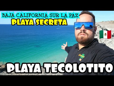 UNA PLAYA ESCONDIDA EN BAJA CALIFORNIA SUR LA PAZ