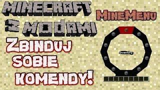 Minecraft z Modami #123 - Minemenu - Zbinduj sobie komendy!