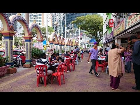 Brickfields Little India Kuala Lumpur Travel in Malaysia 2017
