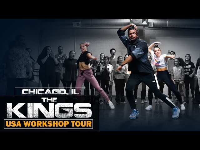 The Kings | USA Workshop Tour | Chicago | Hum Tum Remix