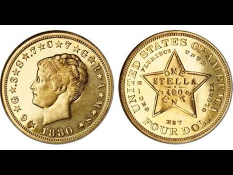 $4 Gold Stella Video - Numismatic Video Series - Numismatics with Kenny