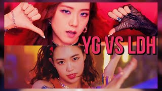 YG vs LDH || Which one do you prefer? (musically ) || Feat. ZENPOP JAPAN