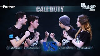NonStopGaming&Inde Game vs gamer channel&ggladenia | פרק 26| call of duty