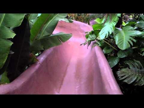 Insane waterslide at Los Lagos resort in Costa Rica