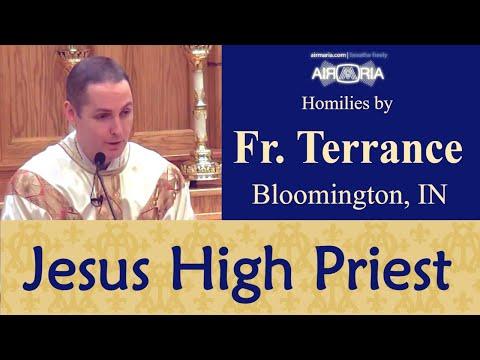 Jesus: Merciful, Faithful, High Priest - Jan 13 - Homily - Fr Terrance