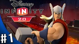 Disney Infinity 2.0 Marvel Super Heroes - Escape from the Kyln - Toy Box Game - Part 1