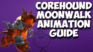 "Warlords of Draenor: ""Corehound Mount Moonwalk Glitch"" (GUIDE)"